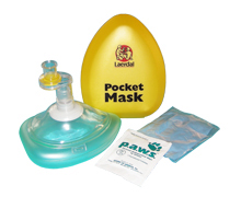 Pocketmask hårdask gul